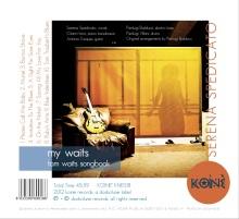 """Photo by Giacomo Rosato. """"My Waits. Tom Waits Songbook"""" (Dodicilune)."""